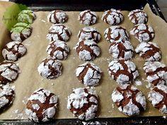 κρακελέ μπισκότα Cake Cookies, Cupcake Cakes, Death By Chocolate, Biscuits, Muffin, Food And Drink, Pudding, Cooking, Breakfast