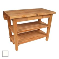 John Boos Classic Country Work Table Paint My Old Chop Block Legs Black And  Add A Shelf @Andy Sain | KITCHEN | Pinterest | Shelves, Cottage Kitchens  And ...