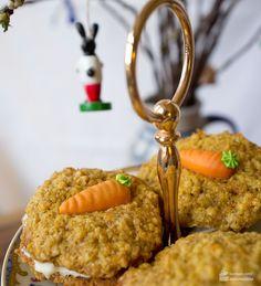 Osterkekse mit Haferflocken und Karotten - Madame Cuisine