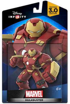 Disney Infinity 3.0 Edition Marvel's Hulk Buster Toy Brand New in Box and Sealed by entertainmentplace on Etsy