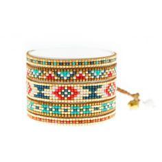 Mishky Multi Color Beaded Bracelet