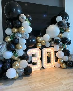 No hay descripcin de la foto disponible shannon kilford on all the pretty for this birthday in the ivy penthouse! Birthday Balloon Decorations, Birthday Balloons, Wedding Decorations, 30th Birthday Parties, Birthday Celebration, 30th Party, 50th Birthday, Black And Gold Balloons, Gold Confetti Balloons