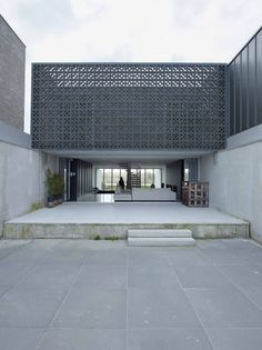 Residential Architecture: W-House by VMX Architects.(via * Residential Architecture: W-House by VMX Architects) Architecture Durable, Architecture Design, Facade Design, Residential Architecture, Contemporary Architecture, Exterior Design, House Design, Building Architecture, Modern Contemporary