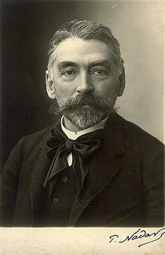 Stephane Mallarmé (18 March 1842 – 9 September 1898),  a major French symbolist poet and critic.     Repinned