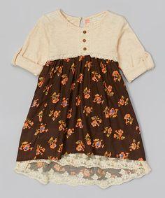 Paradise Floral Field Dress - Toddler & Girls | zulily