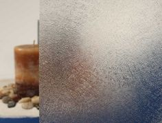 Frosted Fiberglass Privacy Window Film - Embossed Vinyl Glass Covering