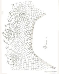 crochet graphics suitable for a poncho Picasa Web Albums - crochet pattern diagram for a flounce, ruffle or a poncho