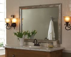 Looks like a New Years project for me!  MAKEOVERS : MirrorMate : Mirror Frames