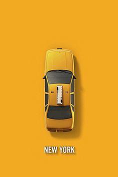 NY at first sight #yellow #cab