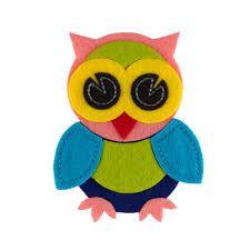 Resultado de imagem para owl felt