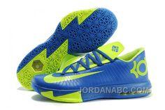 http://www.jordanabc.com/nike-kevin-durant-kd-6-vi-royal-blue-neon-green-for-sale.html NIKE KEVIN DURANT KD 6 VI ROYAL BLUE/NEON GREEN FOR SALE Only $90.00 , Free Shipping!