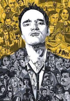 Quentin Tarantino | fan art | read more at miramax.com