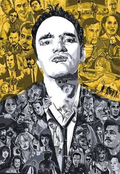 Quentin Tarantino | fan art | read more at miramax.com