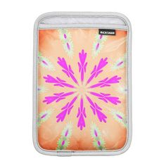 PEACH AND PINK KALEIDOSCOPE IPAD MINI CASE iPad MINI SLEEVES
