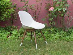 Gartenstuhl Pinta Eukalyptus U0026 Weiß Livingruhm #garten #möbel #stuhl # Gartenstuhl #kunststoff