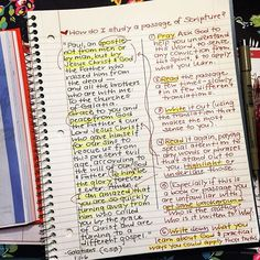 27 Best My Own Bible Study Notes, Tips, Examples images in 2019