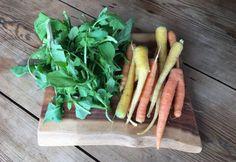 Roasted Carrots with Arugula Pesto - Santa Fe Farmers' Market Institute