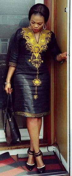 Photos Happy relationships are caused by Fairy Godmother intervention right? Latest African Fashion Dresses, African Dresses For Women, African Print Dresses, African Print Fashion, African Attire, African Women, Shweshwe Dresses, African Traditional Dresses, Look Fashion
