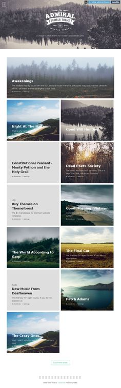 Admiral tumblr theme Layout Site, Patch Adams, Dead Poets Society, Monty Python, New Music, Writers, Tumblr, Authors, Tumbler