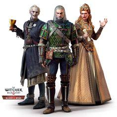 Blood and Wine Regis,Geralt and Anna Henrietta by Scratcherpen.deviantart.com on @DeviantArt