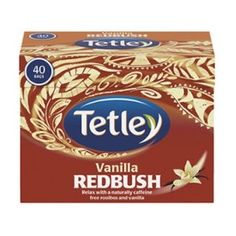 Tetley Vanilla RedBush Tea