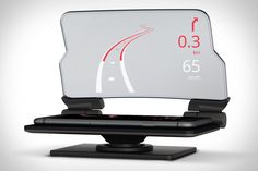 It's not the first in-car head-up display we've seen. But it does make the most sense. Instead of packing in its own electronics and OS, the Hudway Glass Head-Up Car Display uses your smartphone as its brains. You simply launch. Head Up Display, Display Screen, Travel Gadgets, Tech Gadgets, Iphone Gadgets, Kids Tumbler, Car Head, Car Phone Mount, Premium Cars