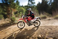 2013 Honda CRF250L - in action