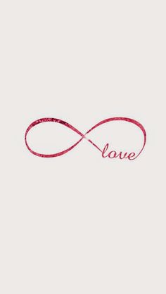 Pink Love Infinity wallpaper