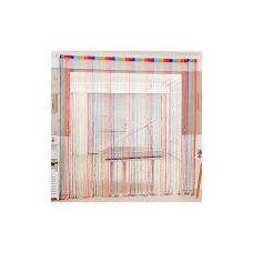 String Curtains is a stylish way to liven up any room. It can be used on windows, in doorways, as room dividers or even as wall decorations. It allows more light and air than traditional curtains, but still maintain an aspect of privacy.