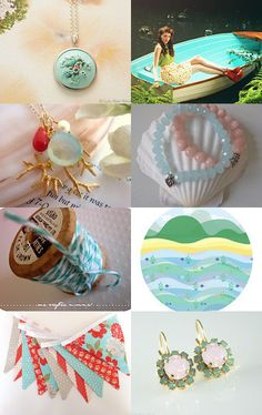 etsy treasury she sells seashells