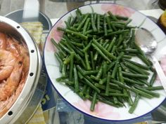 French beans in maggi seasoning