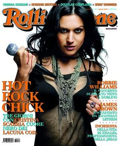 I primi 100 numeri di Rolling Stone. N°34 - agosto 2006. Cristina Scabbia, @MissScabbia in copertina #cover