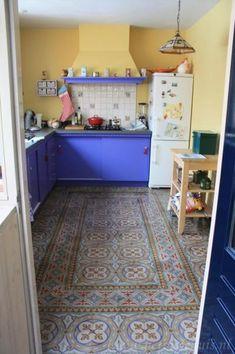 Oud en nieuw dubbelhardgebakken tegels mozaiek utrecht jaren 20 jaren 30 woning tegels - Keuken in het oude huis ...