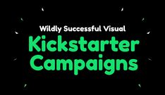 Successful Kickstarter campaigns that skyrocket with the help of visuals. Internet Marketing, Online Marketing, Social Media Marketing, Digital Marketing, Visual Learning, Learning Centers, Business Tips, Online Business, Design Campaign