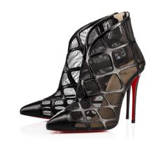 Christian Louboutin Women Boots : Discover the latest Women Boots collection available at Christian Louboutin Online Boutique. Ankle Boots, Open Toe Boots, High Heel Boots, Ankle Heels, Red Bottom Boots, Christian Louboutin Outlet, Black Fishnets, Black Boots, Glamour