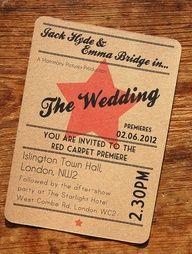 silent movie themed wedding silent movie themed wedding silent movie themed wedding - Google Search