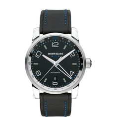 dc918f327fd Montblanc TimeWalker Voyager UTC - Special Edition model Number  109334   MontBlanc  WatchConnection