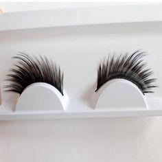 Profissional Maquiagem Cilios Oblicua Grueso Cabello Natural Hecho A Mano Maquillaje Extensión de la Pestaña Pestañas de Visón Pestañas Postizas