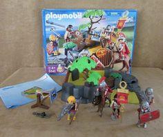 Playmobil 5841 MIB Roman Soldier's Camp figures playset Medieval fortress #PLAYMOBIL