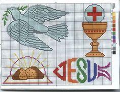 Graficos para bautizo y comuniones | Aprender manualidades es facilisimo.com