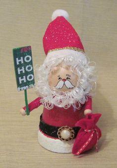 Clay Pot Santa