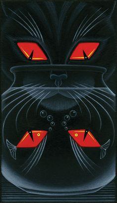 Tony Meeuwissen - Four of Diamonds - http://www.folioart.co.uk/illustration/folio/artwork/four-of-diamonds/