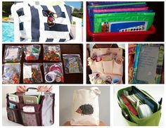Busy bags - quick things to grab when kids will need to sit still and be quietly occupied