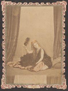 """Pierre Louis Pierson, """"La Reine d'Etrurie"""", Portrait of Comtesse de Castiglione, 1863-1867"""