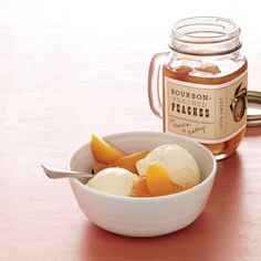 Bourbon-Poached Peaches | Desserts | Pinterest | Peaches and Search