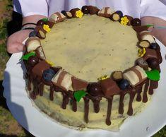 Maková torta s mascarpone krémom