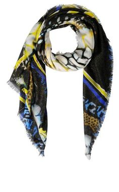 Scialle Donna - Accessori in tessuto Donna su Roberto Cavalli Online Store