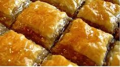 Bakllava is a puff pastry with nuts and syrup Turkish Delight, Spanakopita, Cornbread, Banana Bread, French Toast, Easy Meals, Pork, Cheese, Breakfast