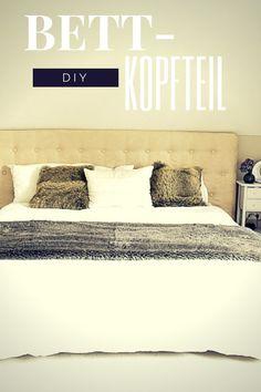 schlafzimmer-ideen-für-bett-kopfteil-selber-machen_kreative, Hause deko