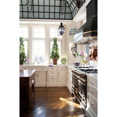 gypsies-in-genoa: This needs to be my kitchen... ❤ liked on Polyvore